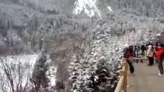 preview picture of video '1002九寨溝雪景 長海 MV01 則查洼溝 水景之王 童話世界 中國旅遊 {四川}'