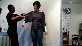 Kimono Dragon - look 1 - classic sleeve variations