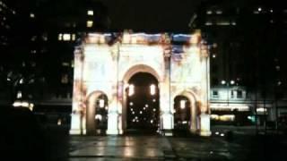 promo sur un monument londonien