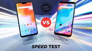 OnePlus 6 vs OnePlus 5T SPEED Test