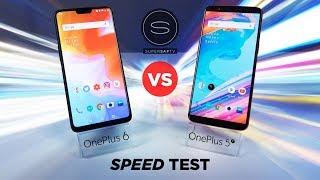 OnePlus 6 vs OnePlus 5T SPEED Test