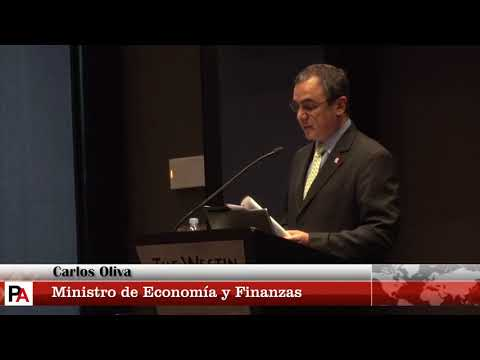 Amcham: Almuerzo con el ministro de Economía y Finanzas, Carlos Oliva