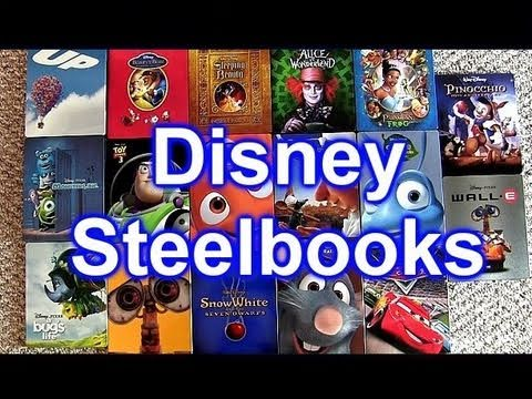 My Pixar Disney Steelbook Entire Complete Collection Blu Ray + Dvd