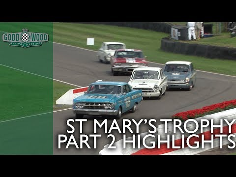 St. Mary's Trophy Part 2 Highlights   Goodwood Revival 2018
