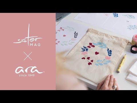 *Anzeige | ara DIY | Ein Schuhbeutel zum Verlieben!
