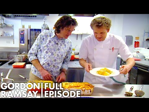Gordon Ramsay's Hilarious Cook Off Against James May   The F Word Full Episode