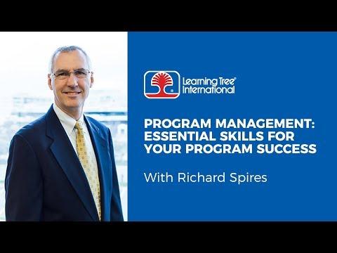 Program Management: Essential Skills for Your Program Success ...
