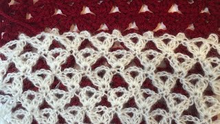 Crochet Lace Pattern For Scarf Shawl Blanket