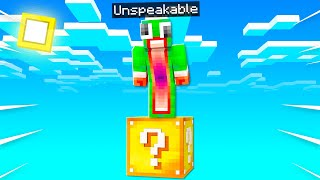 Minecraft But You Only Get ONE LUCKY BLOCK...