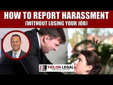 Report Workplace Harassment