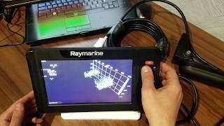 Raymarine element 7hv с датчиком hv 100
