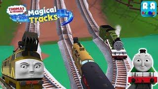 Diesel 10 meet Henry - Thomas and Friends: Magical Tracks - Kids Train Set