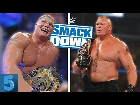 5 Times The WWE Championship CHANGED Hands On SmackDown