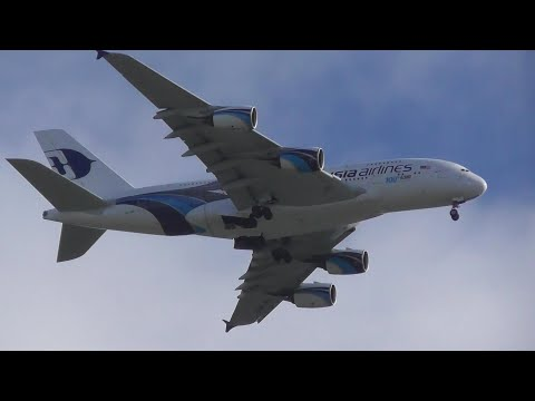 TCX Repatriation Flight Malaysia Airbus A380 9M-MNF On MH8493 Heading To Manchester UK 26/09/2019