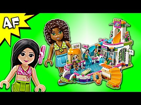 Vidéo LEGO Friends 41313 : La piscine d'Heartlake City