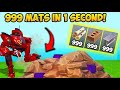 How to get max mats with new meck!!!