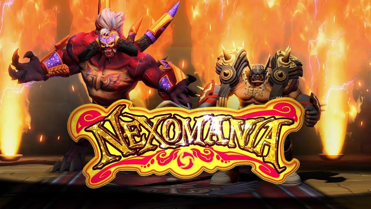 Nexomania Porta Nuove Skins, Un Nuovo Evento e Molti Cambiamenti