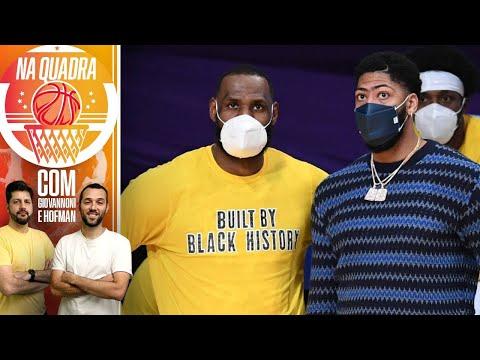 Na Quadra de Casa! #62 - Lakers sem LeBron James e Anthony Davis: e agora?