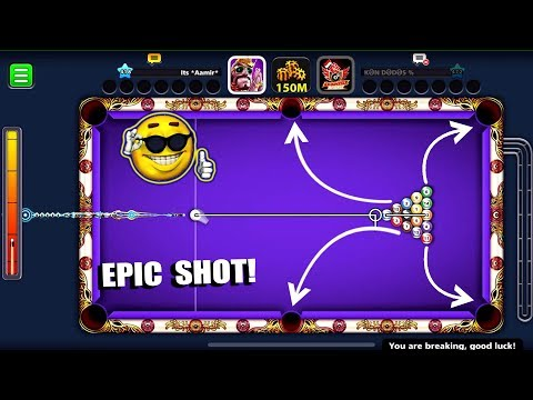 I SOMEHOW DID THIS EPIC BREAK IN 8 BALL POOL & SURPRISED EVERYONE...