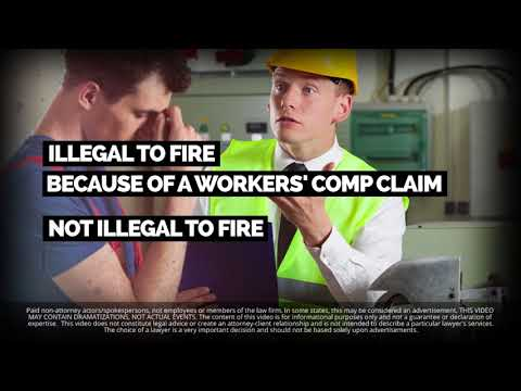 Can I Be Fired for Making a Workers' Comp Claim?