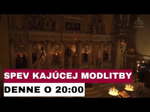 POZVÁNKA: Kánon sv. Andreja Krétskeho NAŽIVO DNES z Katedrály Narodenia presvätej Bohorodičky - KE