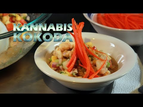 Cannabis Kokoda (Marijuana Infused Fiji Island Ceviche) Infused Eats #40