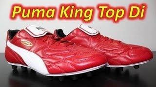 Puma King Top Di Regal Red/White/Black - UNBOXING