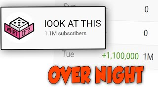 This YouTube Channel FORCED 1 Million People to Subscribe to it Over Night