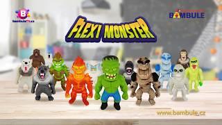 Flexi Monster – Super natahovací monstra připravená k boji!
