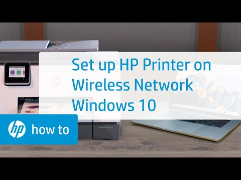 How to Set Up a Wireless HP Printer Using HP Smart in Windows 10