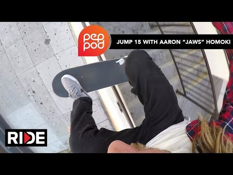 Jump Down 15 Stairs With Aaron Jaws Homoki