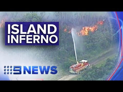 Victoria Bushfires: Emergency warnings close to Melbourne | Nine News Australia