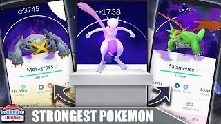 TOP 10 *STRONGEST POKÉMON* in POKÉMON GO - SHADOW & NORMAL | Pokémon GO