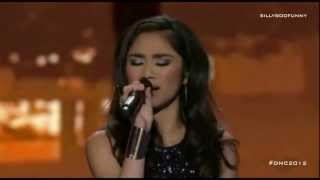 Jessica Sanchez Sings You're All I Need to Get By at the DNC2012