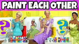 PAINT EACH OTHER CHALLENGE. Disney Princess Giant Edition (Totally TV Characters)