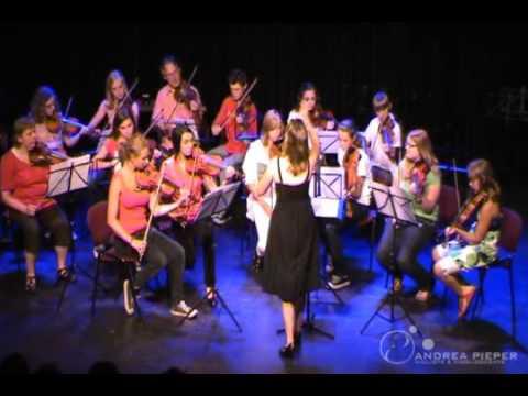 Andrea Pieper - uitvoering strijkersensemble - deel 2