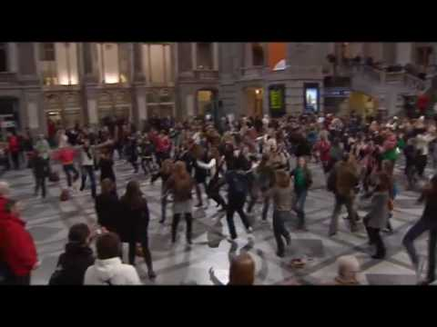 3 Fascinating Flash Mobs