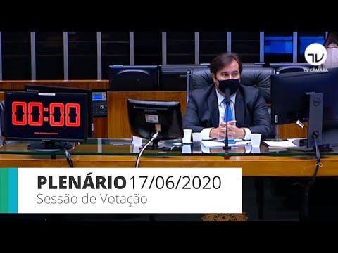 Plenário - Câmara conclui votação de MP que altera regras trabalhistas – 17/06/2020