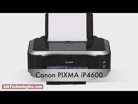 Canon PIXMA iP4600 Instructional Video