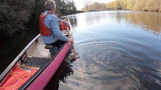Canoeing:  Indian Stroke (hunting Stroke Or Stealth Stroke)