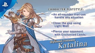 Granblue Fantasy: Versus - Katalina Character Trailer | PS4