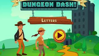 Abcya.com Dungeon Dash Letter Alphabet Games For Kids, Pre-school And Toddlers