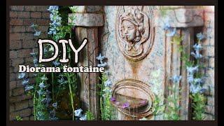 DIY / How I Make - Diorama Fontaine - Doll Craft - English Subtitles