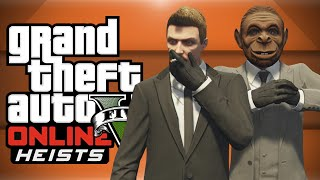 GTA 5 HEISTS! - Fleeca Bank, Condom Man, New Clothes, Moon Emoji! (GTA 5 Funny Moments)