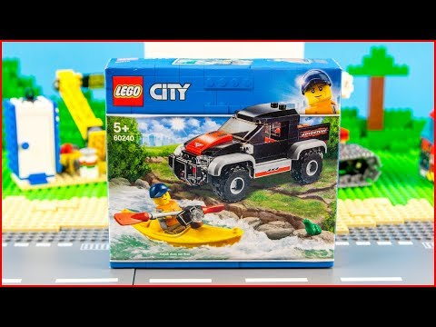 Vidéo LEGO City 60240 : L'aventure en kayak