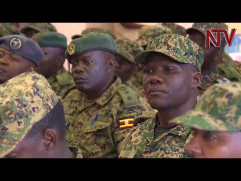 President Museveni preaches patriotism to military students