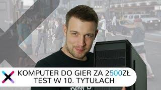 Najlepszy PC Do Gier Za 2500zł | Test W Fortnite, PUBG, CSGO, GTA V, WoT