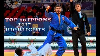 TOP 10 IPPONS 2017|THIS IS JUDO 2017|часть 1-  part 1