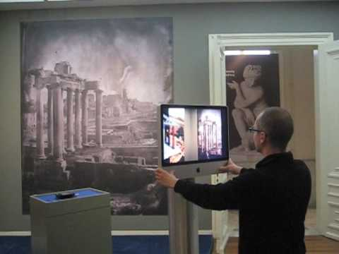 Museum Exhibit Explores Rome Through iMacs and Augmented Reality