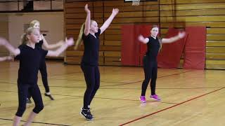 "Jazz Dance Routine: ""Respect"" By ARETHA FRANKLIN"